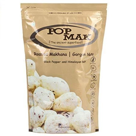 Pop Mak Makhane Black Pepper (Lotus Seeds) 80g Cestaa Ireland Online Grocery Dublin