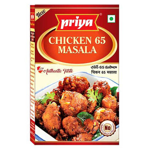 Priya Chicken 65 Masala Powder 50g Cestaa Ireland