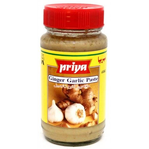 Priya Ginger Garlic Paste 300g Cestaa Ireland