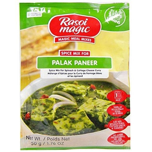Rasoi Magic Palak (Spinach) Paneer Cestaa Online Store Ireland