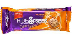 Parle Hide & Seek Fab orange Cream Biscuit 112g