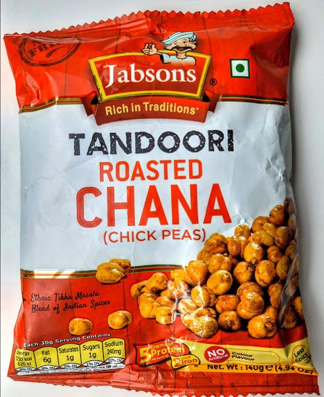 Jabsons Tandoori Roasted Chana 140g