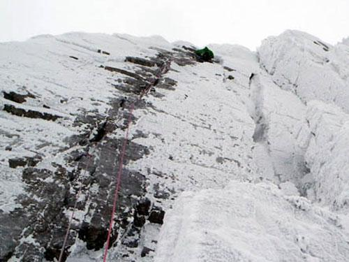 Engineer's Crack - First Winter Ascent