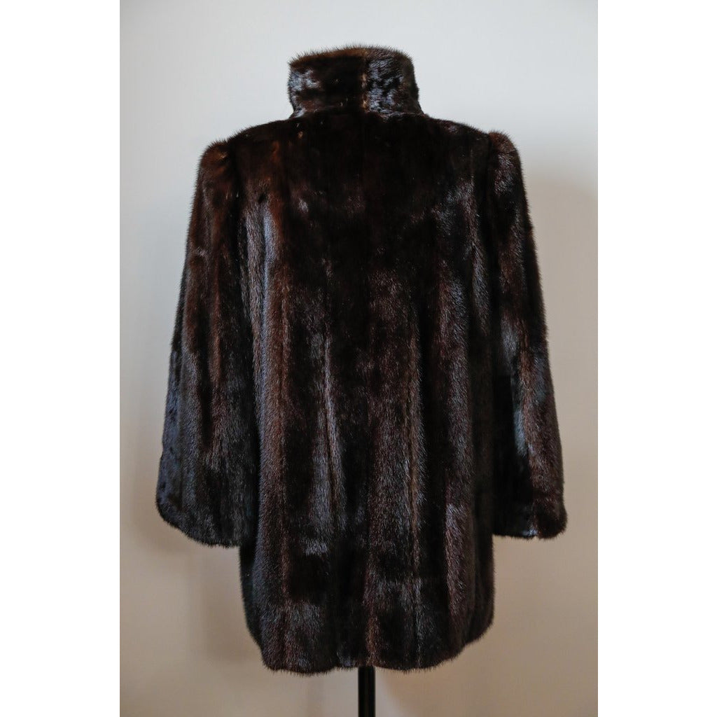 Fur Sport Zip Up Coat
