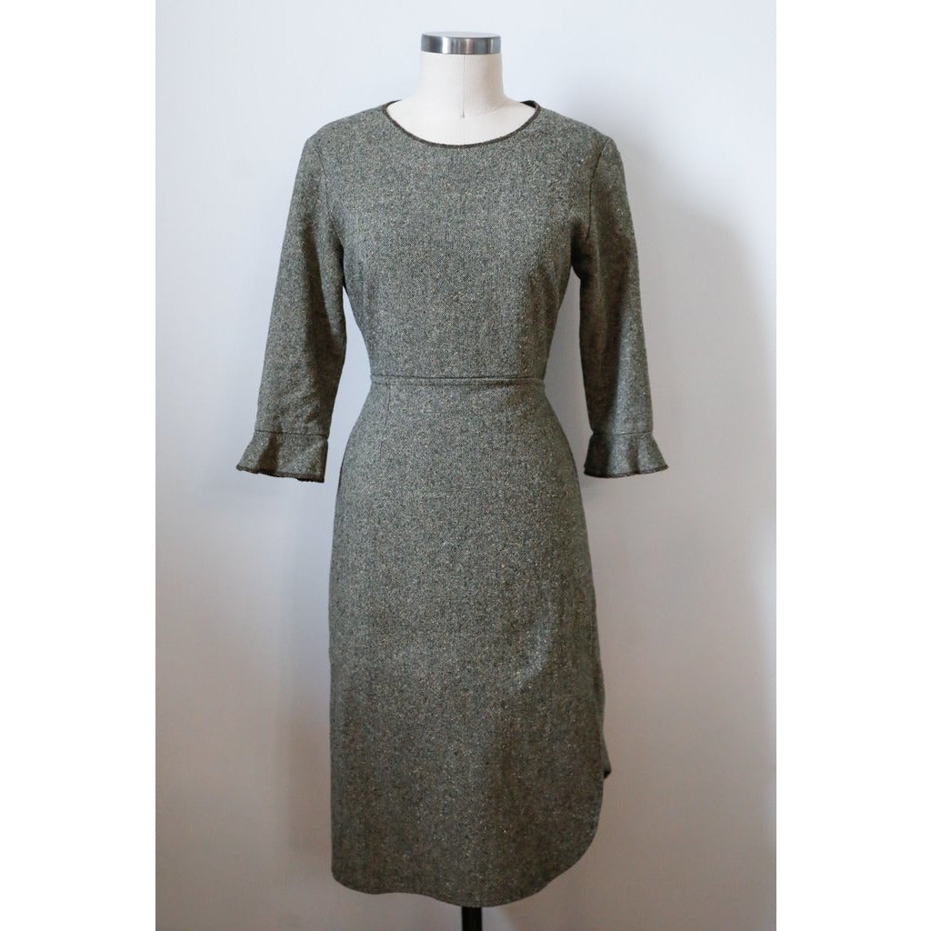 Grey LS Dress
