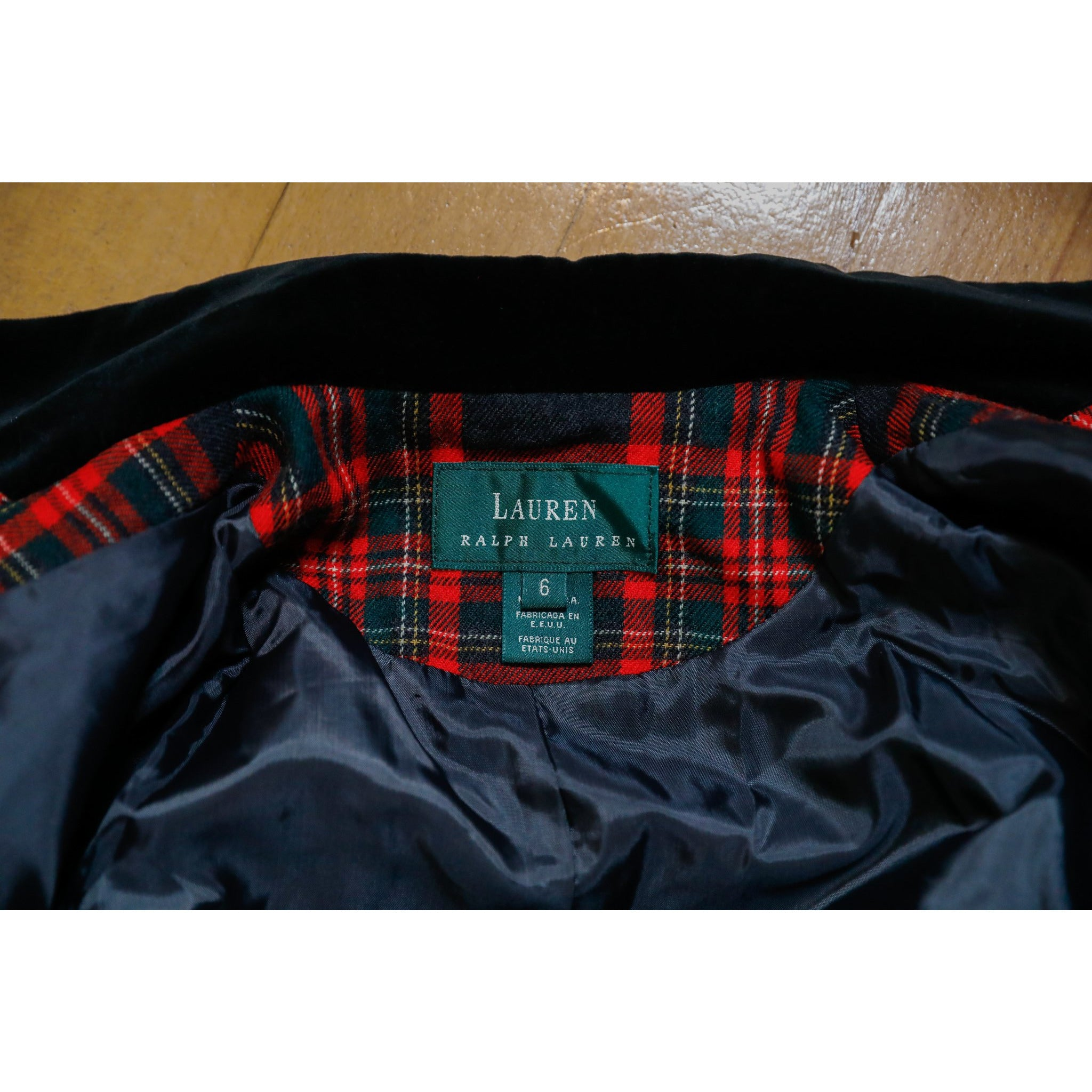 Lauren Ralph Lauren Plaid Dress Coat
