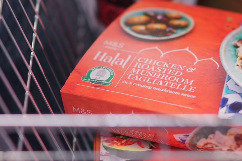 Marks & Spencer to become first major British retailer to sell own-brand halal ready-meals in response to the growing demand from Muslim customers