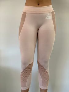 Reveal Seamless Leggings - Baby Pink