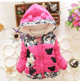 Adorable Winter Minnie Coat For Baby Girls