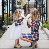 Autumn/Spring Matching Outfit For Mom-Daughter