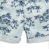 Character Print Beach Boys Short