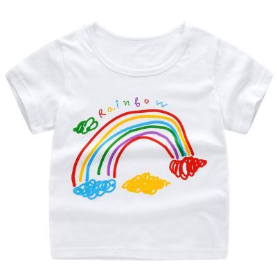 Cute Cartoon Print T-shirts