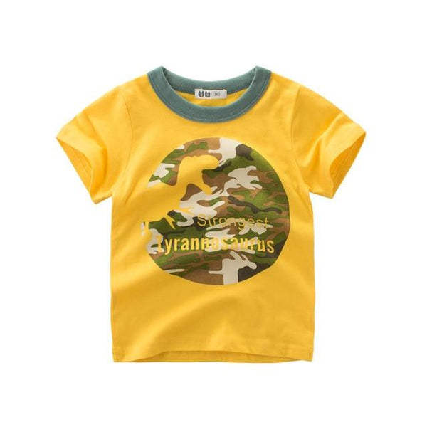 Dinosaur Cartoon T-shirt