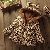 Faux Fur Collar Coat Jacket
