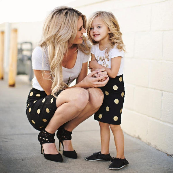 Mother-Daughter Matching Outfit