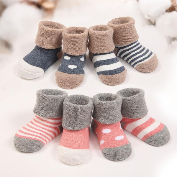 Warm Winter Baby Socks