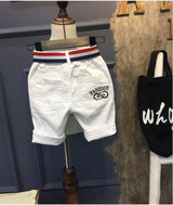 White Boy's Jeans Kids Short