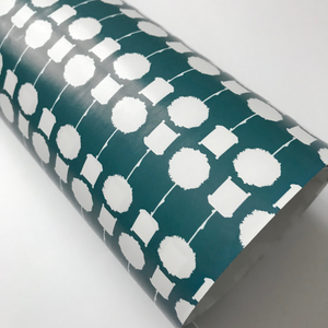 Gift Wrap Topiary Teal