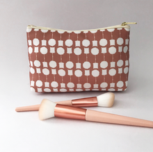 Load image into Gallery viewer, 'Topiary' Make Up Bag Blush Pink