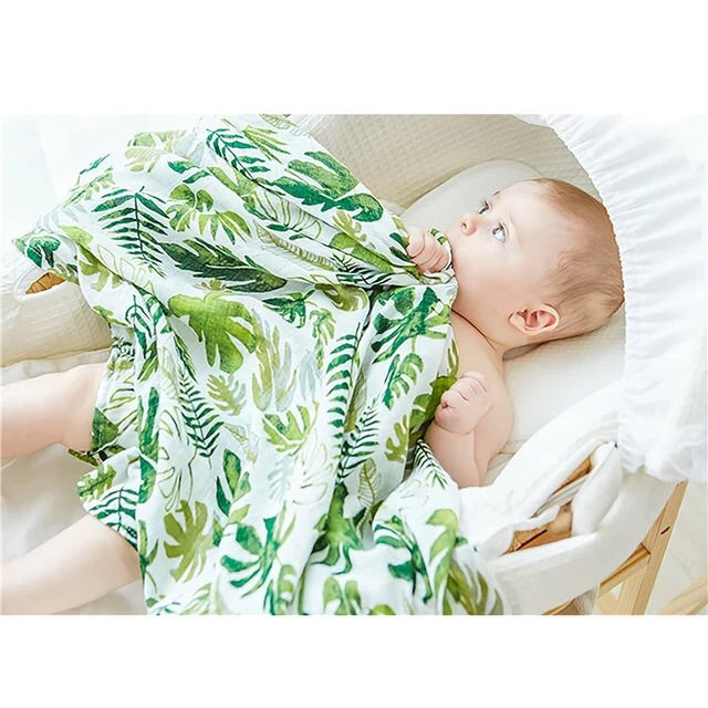 Big Leaf Swaddle/Blanket