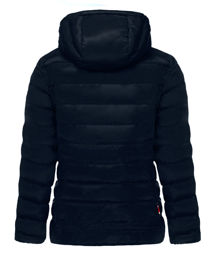 Sienna Hooded Puffer with Fur Lined Hood