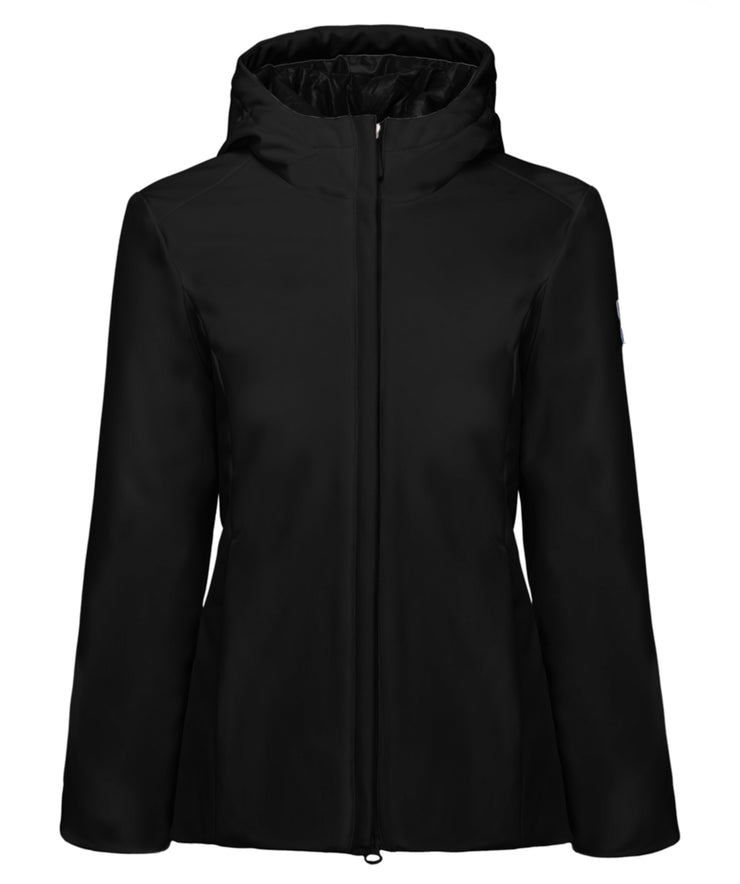 Sara Soft Shell Hooded Short Jacket