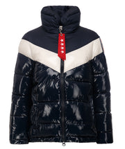Jessica Faux Down High Collar Puffer Jacket