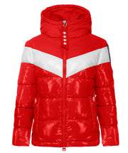Carly Faux Down Hooded Puffer Jacket