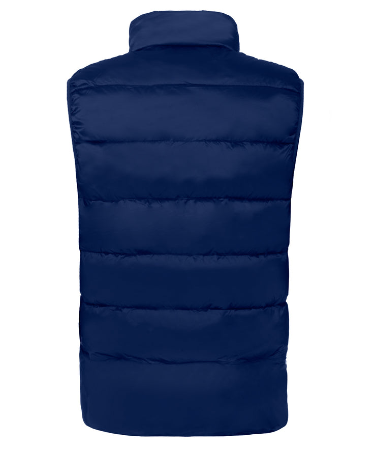 Zaky Puffer Vest with Rainjacket