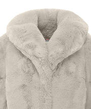 Tracy Long Faux Fur Coat