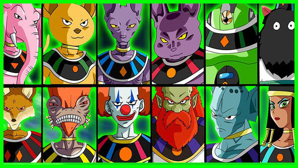 12 Angels possessing unparalleled strength in Dragon Ball Super