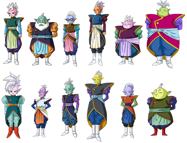 12 Supreme Kai Dragon Ball Super