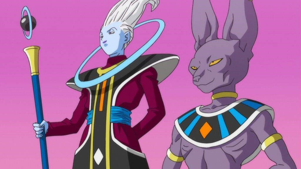 Image result for dragon ball super beerus and whis