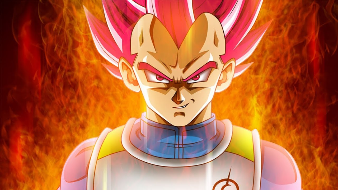 How did Vegeta become a Super Saiyan God?