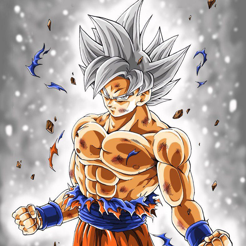 Goku Ultra Instinct - DBZ Clothing