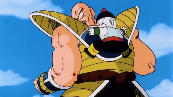 Chiaotzu sacrifices to kill Nappa