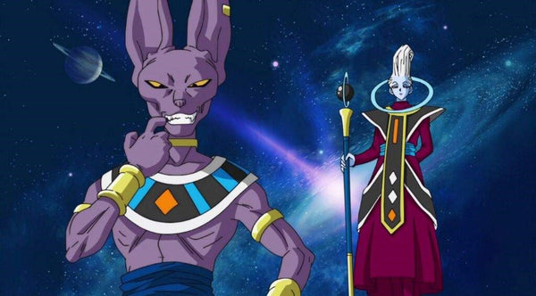 Beerus and whis Dragon Ball Super