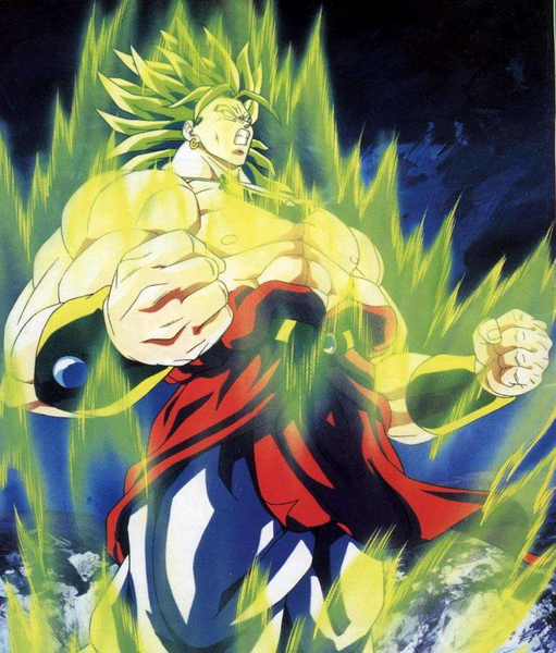 power of broly