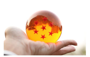 1Pcs 7cm Dragon Ball Z Star Crystal Ball PVC Figure Toys -3
