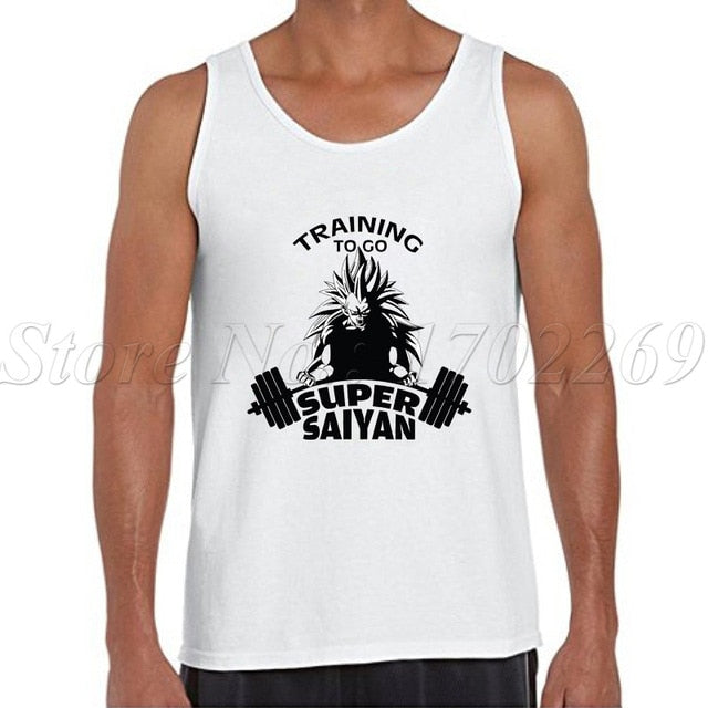Dragon Ball Z Men tank tops 2018 -2