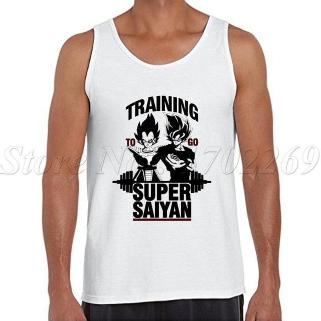 Dragon Ball Z Men tank tops 2018 -6