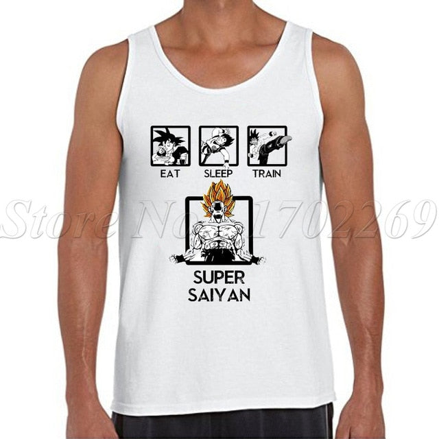 Dragon Ball Z Men tank tops 2018 -1