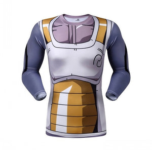 Dragon Ball Z Vegeta Long Sleeve T-shirt