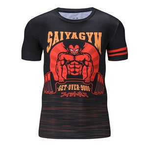 Dragon Ball Z Workout Tees