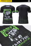 DBZ Broly Workout Tees