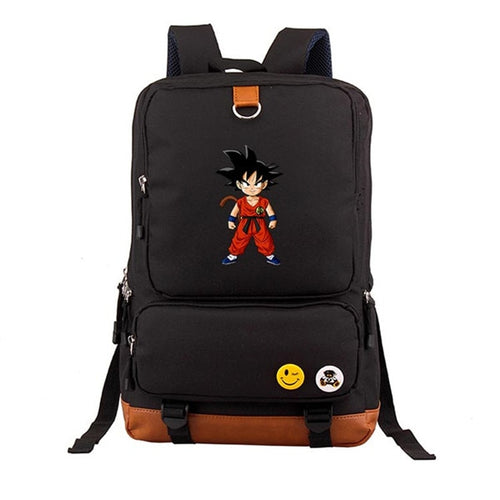 DBZ Kid Goku Black Backpack 2019