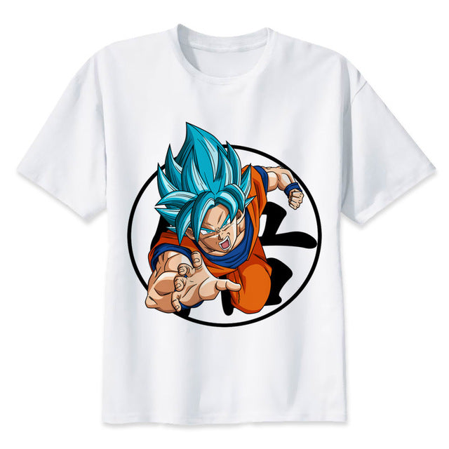 Dragon Ball Super T-shirt Goku Blue new 2019