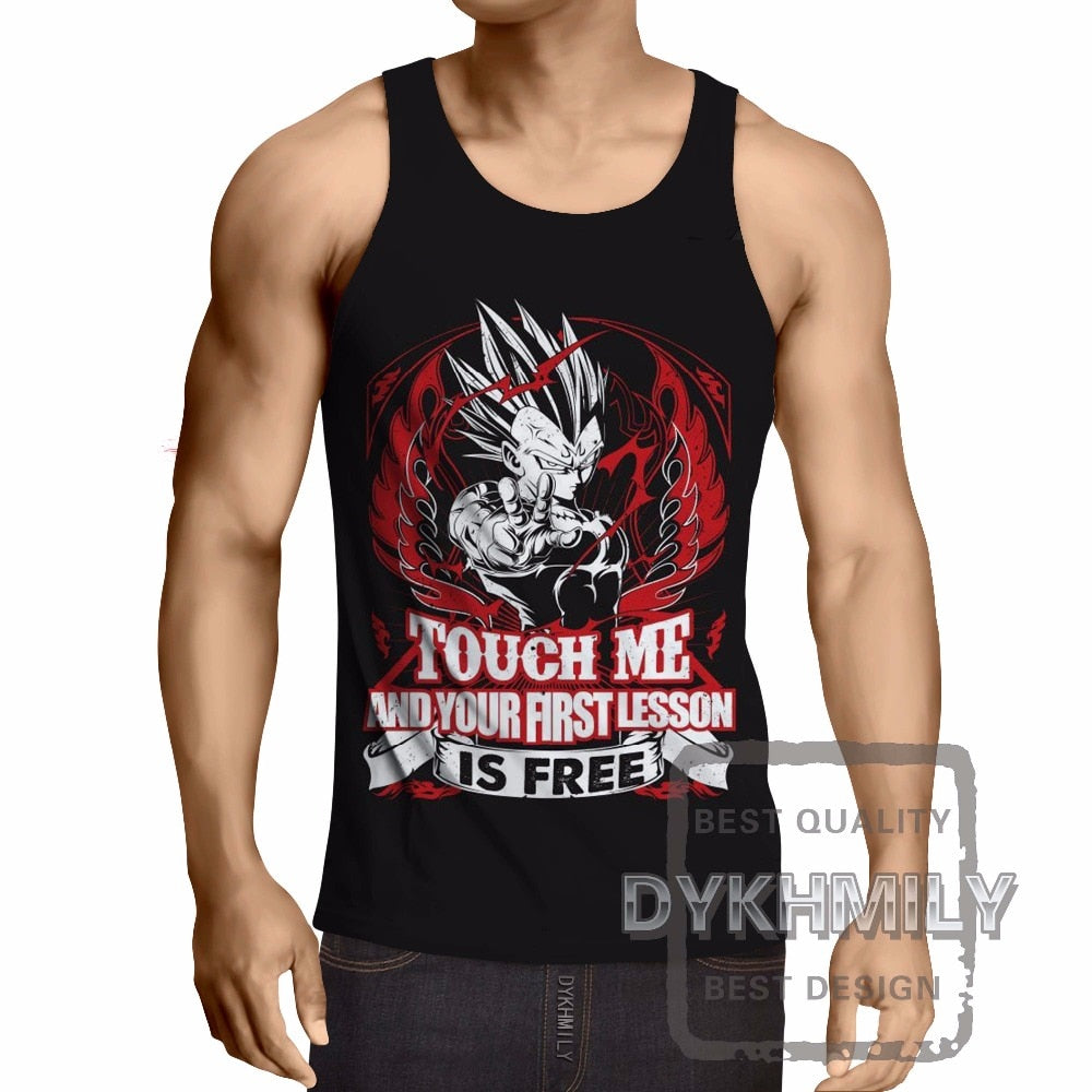 Dragon Ball Z Costume Mens Tank Top