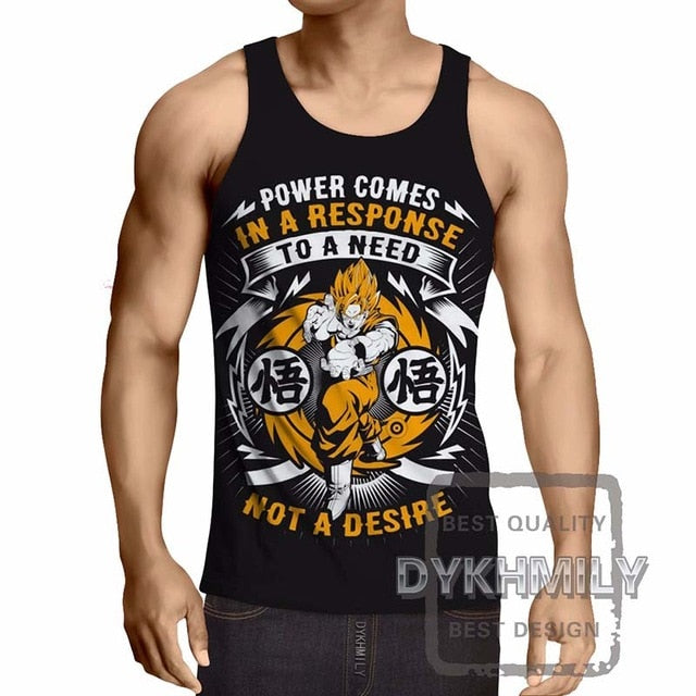 Dragon Ball Z Costume Mens Tank Top -2