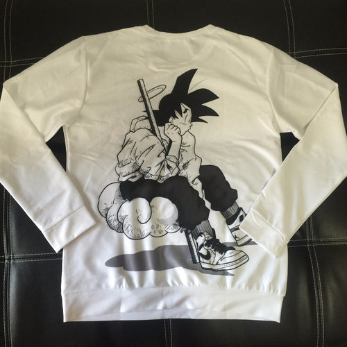 Goku Dragon Ball Z Cute White